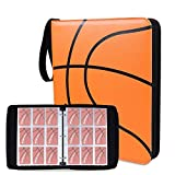 NeatoTek Double Sided 40 Pages 720 Pockets Basketball Card Binder for Basketball Trading Cards, Display Case with Basketball Card Sleeves Card Holder Protectors Set for Basketball Card and Sports Card