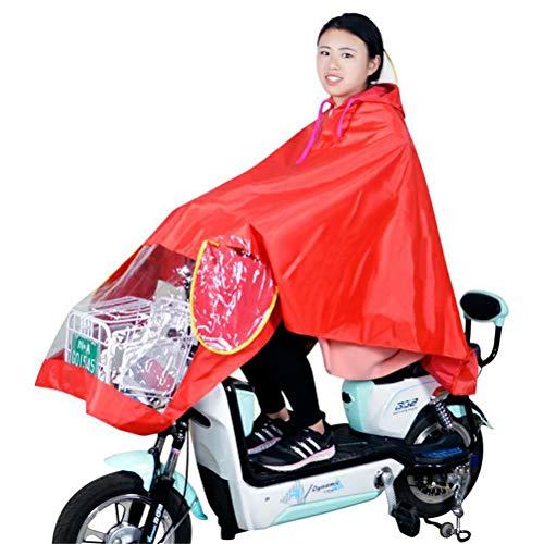 Waterdichte Draagbare Regenjas Met Capuchon Voor Fiets Motorfiets Motorfiets - Motorfiets Poncho