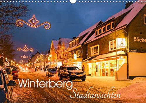 Winterberg - Stadtansichten (Wandkalender 2021 DIN A3 quer)
