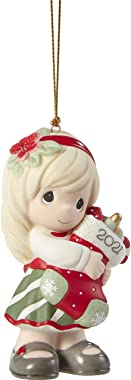You Fill Me with Christmas Cheer Dated Girl Ornament