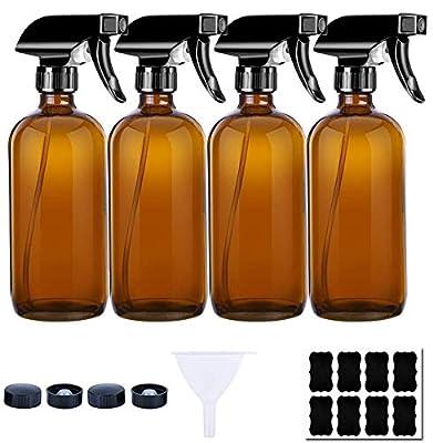 Braunglas Sprühflaschen Gießkannen Verstellbare