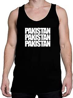 Idakoos Pakistan Three Words Tank Top