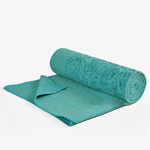 Yoga-handdoek, antislip, yogamat, handdoek, fitnessdeken, machinewasbaar, plus yogamat, regionale mat