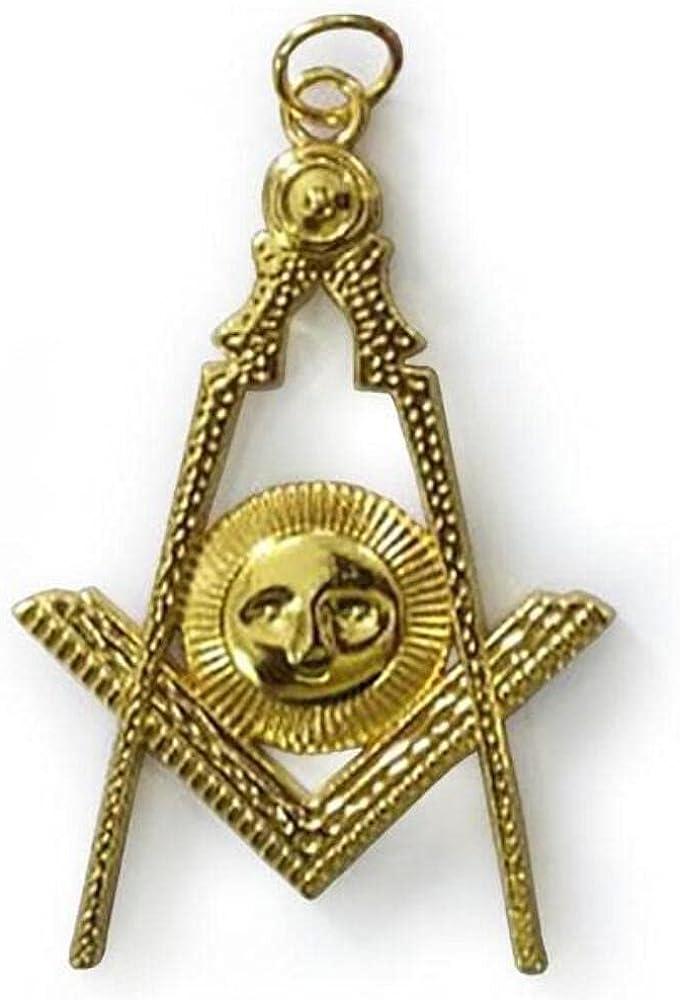 Masonic Gold Collar Jewel - Senior Deacon