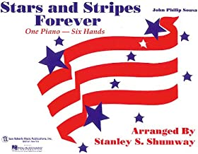 The Stars and Stripes Forever March: 1 Piano, 6 Hands