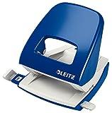Leitz 50080035 Locher (30 Blatt, Anschlagschiene mit Formatvorgaben, Metall, NeXXt) blau