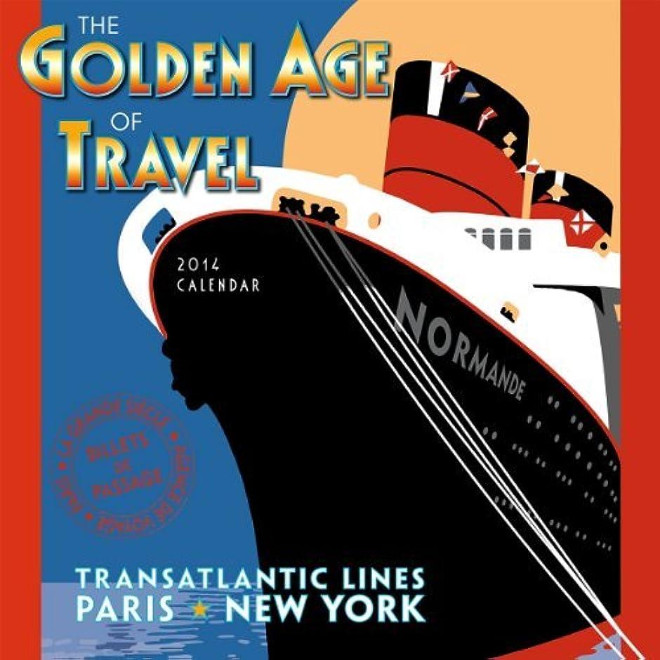 活性化するコミュニティ店主The Golden Age of Travel 2014 Wall (calendar) (English and French Edition) by Linnea Design(2013-07-25)