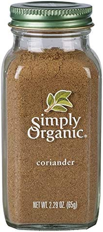 Simply Organic Nashville-Davidson Mall Ground Coriander Max 47% OFF Seed Certified o 2.29