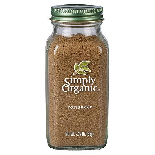 Simply Organic Ground Coriander Seed, Certified Organic | 2.29 oz | Coriandrum sativum L.