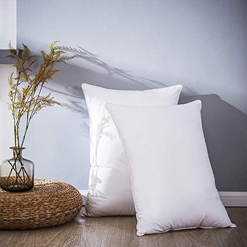 LUOSIFEN Down Feather Pillows (Set of 2) review
