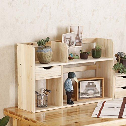 FZN Le Support Simple de Stockage de Table Multicouche d'étagères en Bois Solide avec de Petits Ornements de tiroir Pots de Fleurs (Couleur : #2, Style : B)