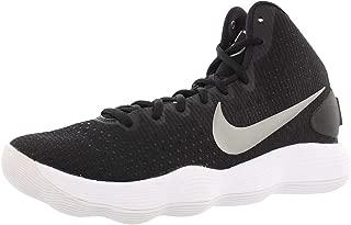 Nike Men's Hyperdunk 2017 TB Basketball Shoe Black/Metallic Silver/White Size 12 M US