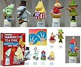 ムーミンズ ティータイム MOOMIN'S TEA TIME シンブル 海洋堂 食玩 北陸製菓(全6種フルコンプセット)