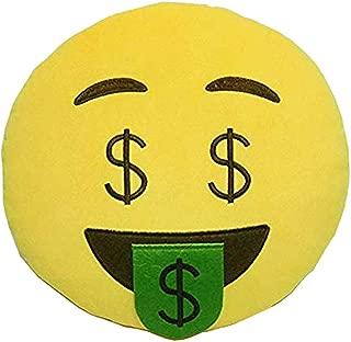Best money mouth emoji pillow Reviews