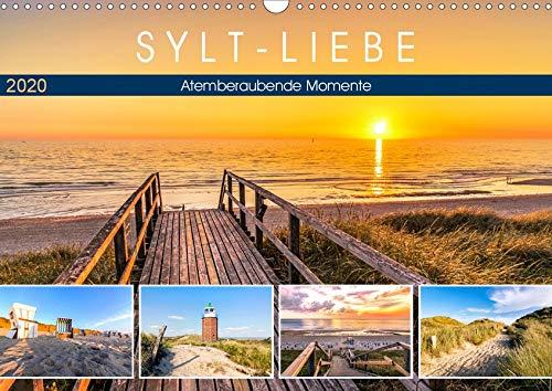 SYLT-LIEBE Atemberaubende Momente (Wandkalender 2020 DIN A3 quer): Die schönsten Inselblicke im Licht der Sonne (Monatskalender, 14 Seiten ) (CALVENDO Natur)