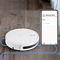 Amour V7s Smart Robot Vacuum Cleaner with Wet Mopping Function,Auto-Recharge & auto-scheduling,Compatible with...