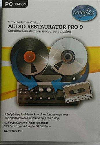 bhv Audio Restaurator Pro 9 Win DVD