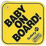 Safety 1st Baby On Board - Pegatina 'Baby on Board', bebé a bordo, accesorio para ventanilla trasera de coche