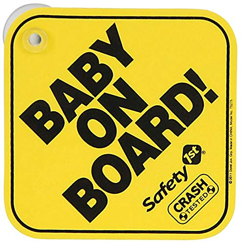 Safety 1st 38000760 - Baby On Board-Schild - Das Original