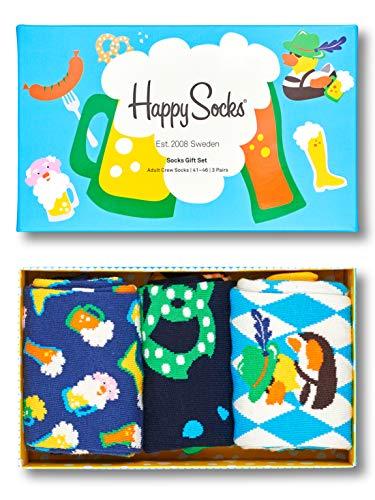 Happy Socks Geschenkbox OKTOBER FEST GIFT BOX SXOKT08-0200 Mehrfarbig 3 Paar, Size:36-40