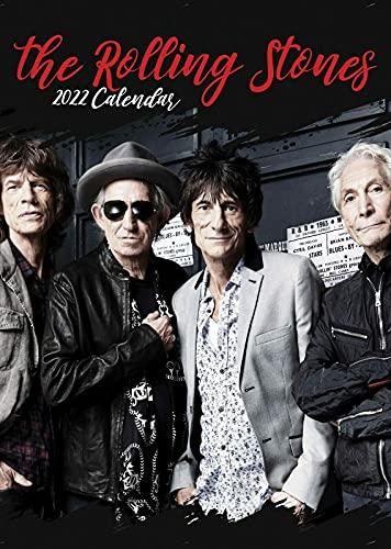 Rolling Stones Kalender 2022 groß (A3)