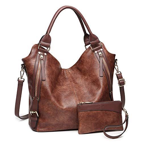 Women Tote Bag Handbags PU Leather Fashion Hobo...