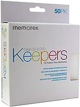 Memorex(R) Cd Dvd Keepers, Clear, Pack Of 50
