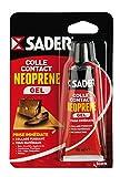 Sader 21648 Colle Contact Néoprène Gel, Jaune, 14 cm x 5 cm/55 ML