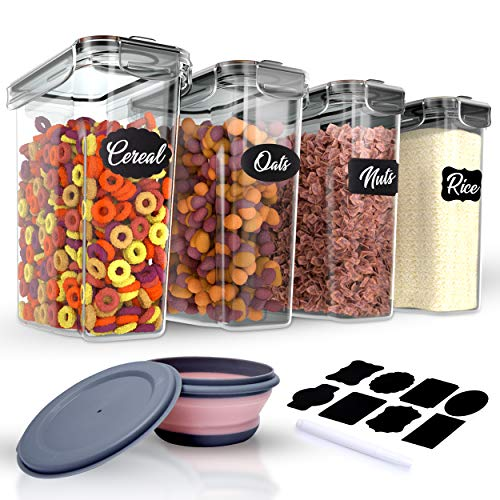 Cereal Storage Containers 4L Set...