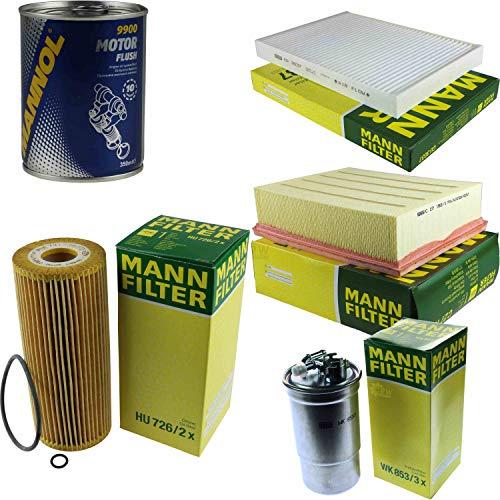 Original MANN-Filter Inspektionspaket Set SCT Motor Flush Motorspülung 11577945