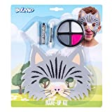 Boland 45110 - Juego de maquillaje de gato pequeño, paleta