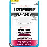 Listerine Gentle Gum Care Interdental Floss for Sensitive Gums, Oral Care, Mint, 50 Yards, Pack of 6