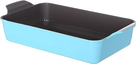 Neoflam 1632/O.C Mini Rectangle Ceramic Oven Dish, Turquoise Blue