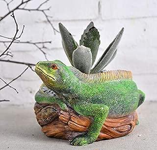 Cute Animal Lizard Shaped Cartoon Home Decoration Desktop Succulent Plants Cactus Vase Flower Planter Pots