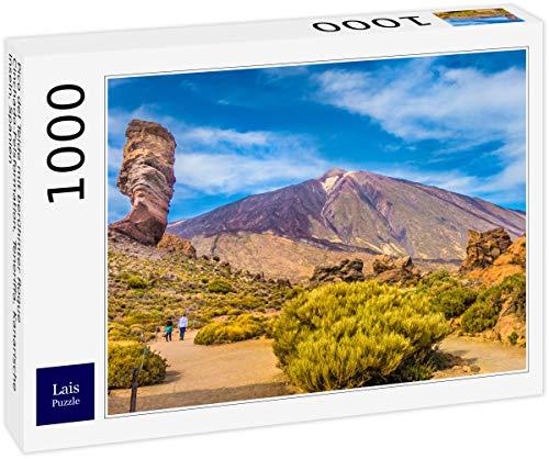 Lais Puzzle Pico del Teide con la Famosa formación rocosa Roque Cinchado, Tenerife, Islas Canarias, España 1000 Piezas