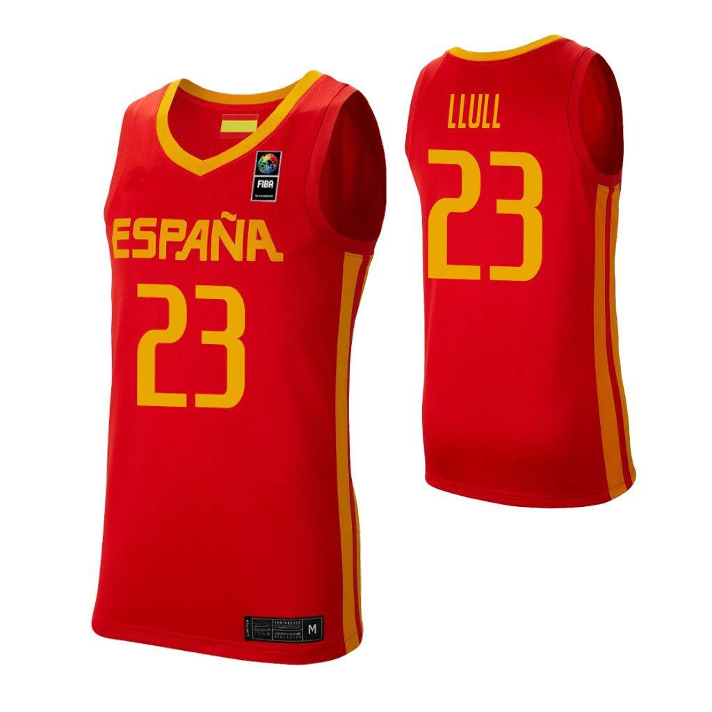 K&Q Camiseta Sergio Llull Selección Española de Baloncesto Rojo 2019 Hombre (Rojo, L): Amazon.es: Deportes y aire libre