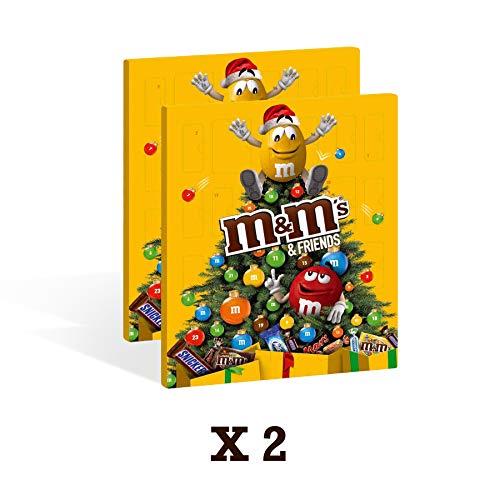 M&M's 2 Confezioni di M&M's Calendario Dell' Avvento Assortimento Misto, 2 Confezioni -...