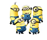 Eplayer® - Pegatinas decorativas de pared con diseño Minions - Mi villano favorito - 1...