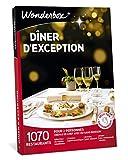 wonderbox – coffret cadeau fêtes des mères - dîner d'exception – plus de 1.000 restaurants