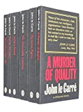 George Smiley Series Collection 6 Books Set By John Le Carré (Call for the Dead, A Murder of Quality, The Looking Glass War, The Honourable Schoolboy, Smiley's People, The Secret Pilgrim)