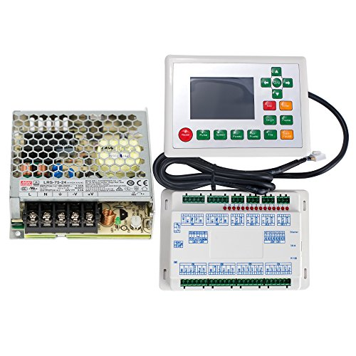 Cloudray Ruida 6442G/S CO2 Laser Controller Und WLAN Konverter Set RDC6442G/S + LRS-75-24 3.2A