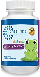 Creekside Naturals Anxiety Comfort for Children, Anxiety Support with P5P, L5-HTP, Passionflower, Zinc, Pediatrician Formu...