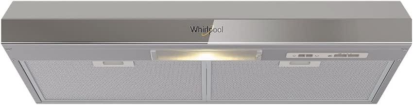 Whirlpool WH8010D Campana Empotrable, color Titanio, 80 Cm