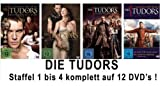 Die Tudors Staffeln 1-4 (12 DVDs)