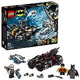 LEGO-DC Comics Super Heroes Mr. Freeze contre le Batcycle, Robin et Mr Freeze Jouet...