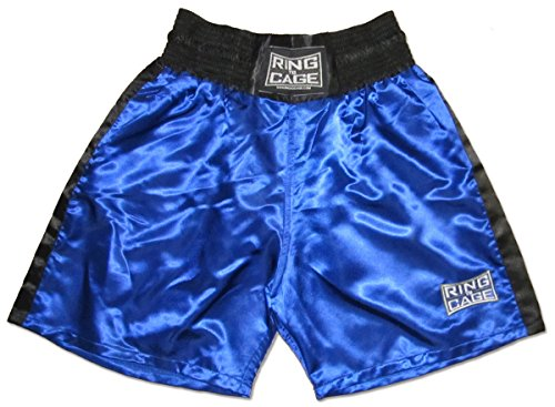 Traditional Boxing Trunks, Blue or Red Color. Kids and Adult...
