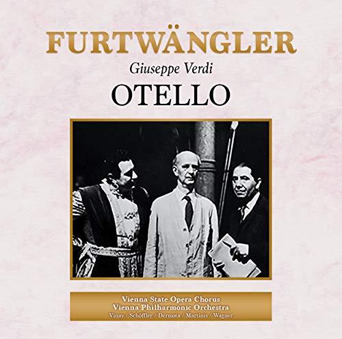 ヴェルディ : 歌劇《オテロ》全曲 / ヴィルヘルム・フルトヴェングラー、ウィーン・フィルハーモニー管弦楽団 (VERDI, G. : Otello [Opera] (Vinay, Schoffler, Dermota, C.Martinis, S.Wagner, Vienna State Opera Chorus, Vienna Philharmonic, Furtwangler) (1951) [2CD] [国内プレス] [日本語帯・解説付] [Live]
