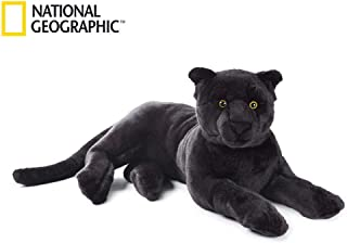 National Geographic Plush Panther Soft Plus Toy Large Black