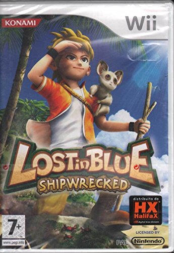 Konami Lost in Blue: Shipwrecked, Nintendo Wii