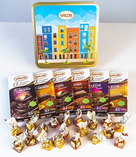 Lote sin azúcar Chocolates Valor